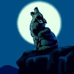 Wolf Moon Luna Lobo